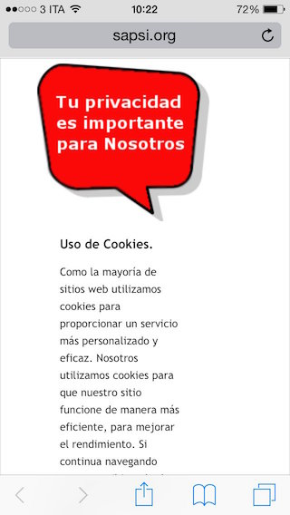 spanish cookie law disclaimer 1