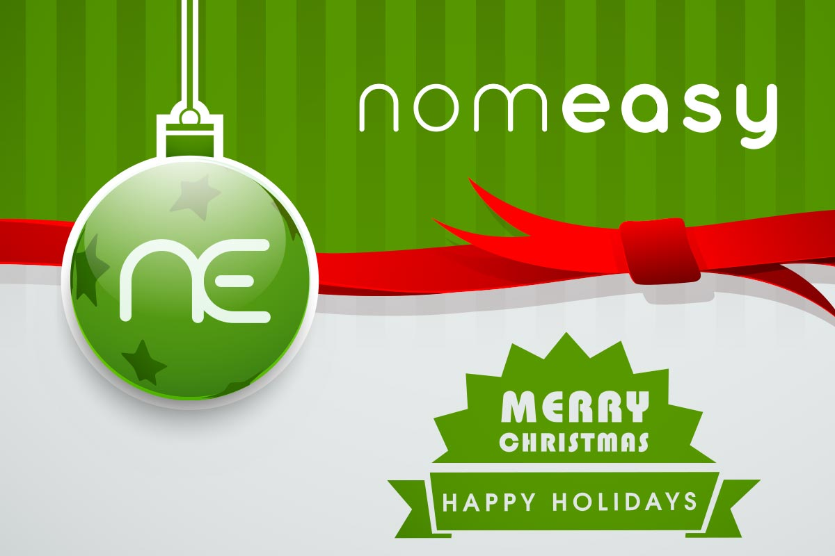 Nomeasy Merry Christmas