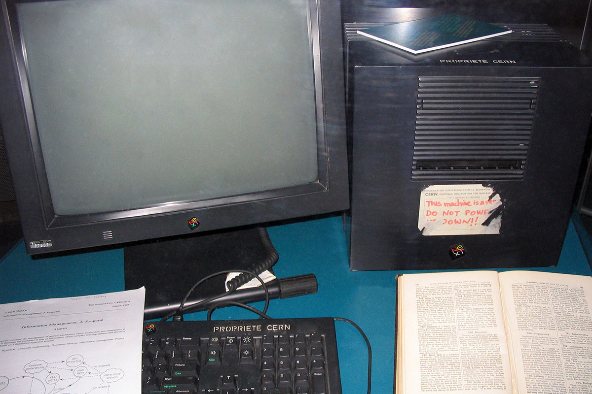 The first World Wide Web Server
