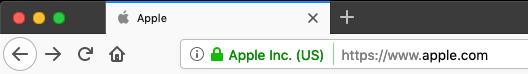 apple sito web sicuro