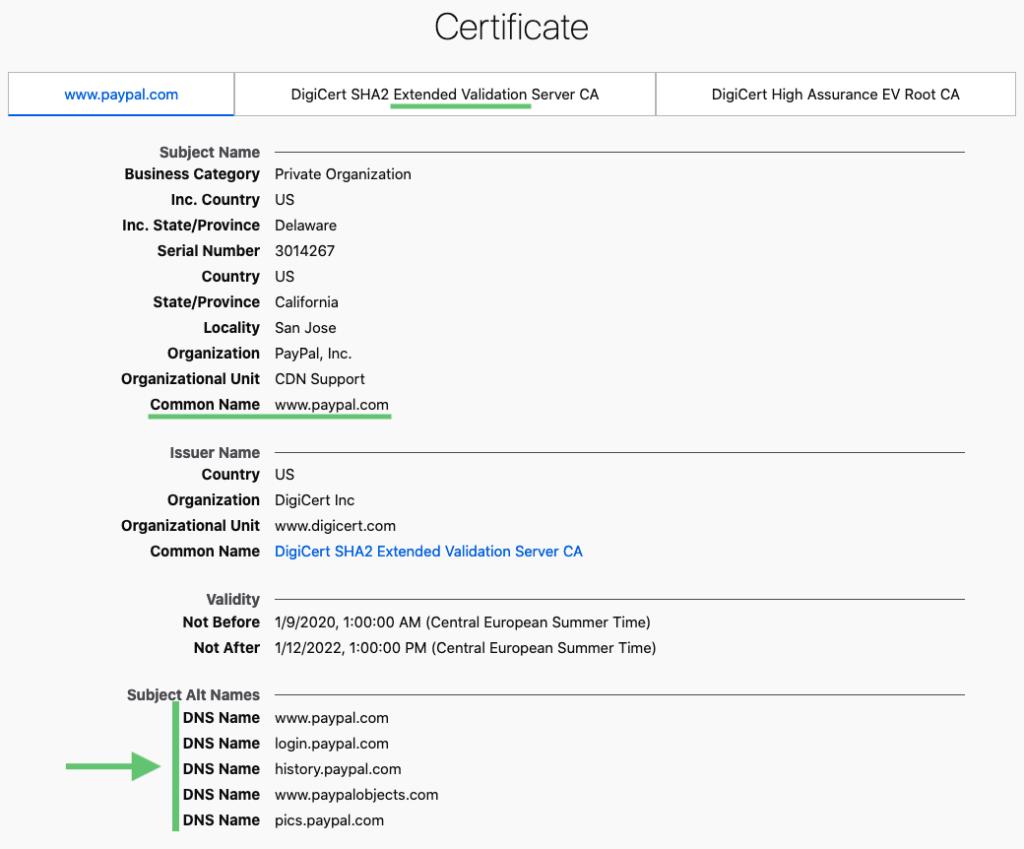Firefox certificato digitale ssl